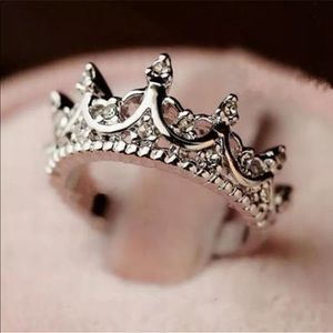 Jewelry - NWT! Every Princess Needs A Crown ring Sizes 6 & 7